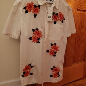 French Connection short sleeve button down